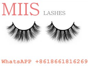 real mink 3d fur strip lashes